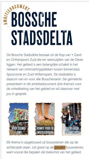 Ambition document Bossche Stadsdelta