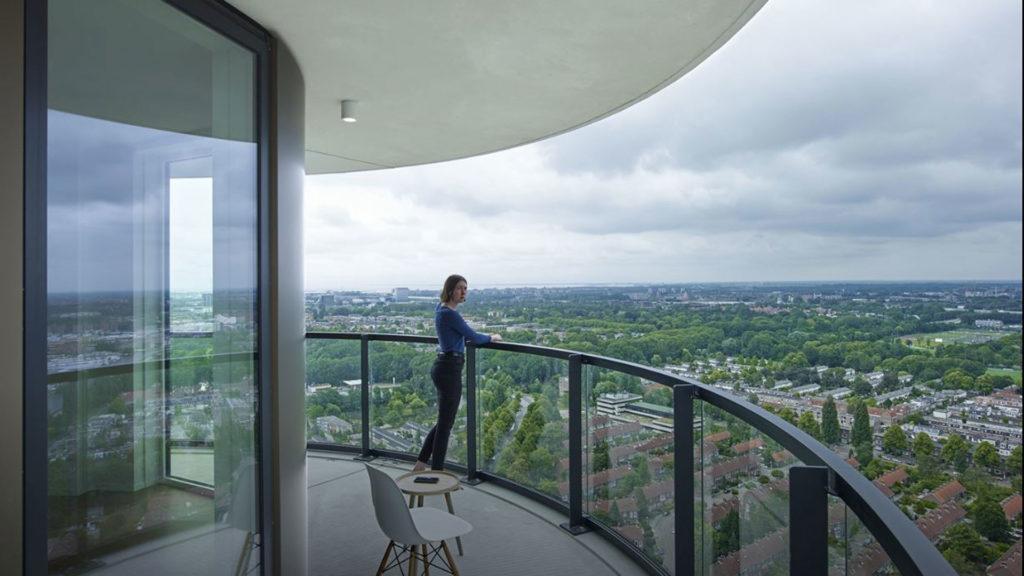 Architect stadsblokken bekend gemaakt, Amstel Tower opgeleverd