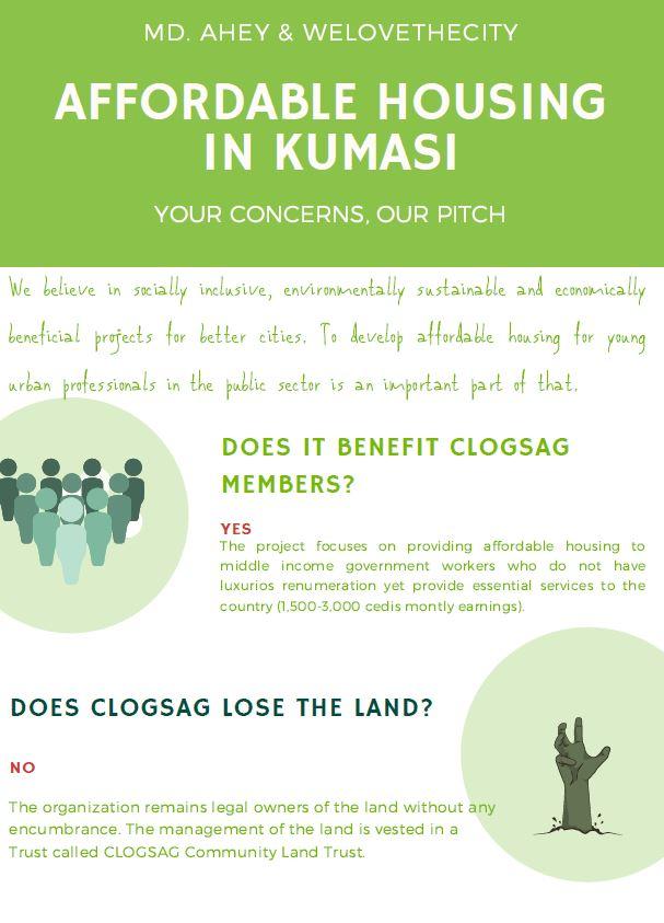 Affordable housing in Kumasi