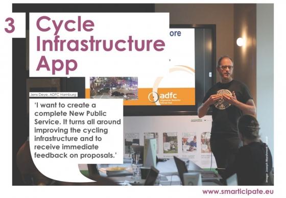 Plug jouw eigen app in het smarticipate platform