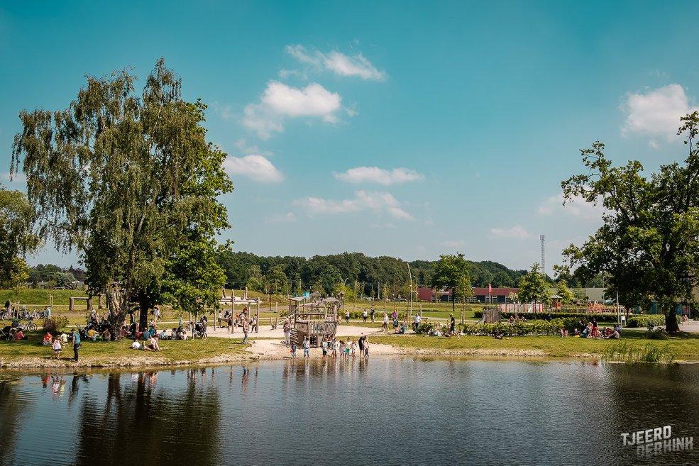 Een Vondelpark in het klein