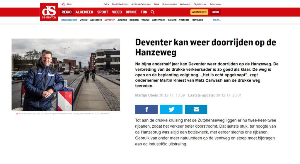 Leve de provincie Overijssel!